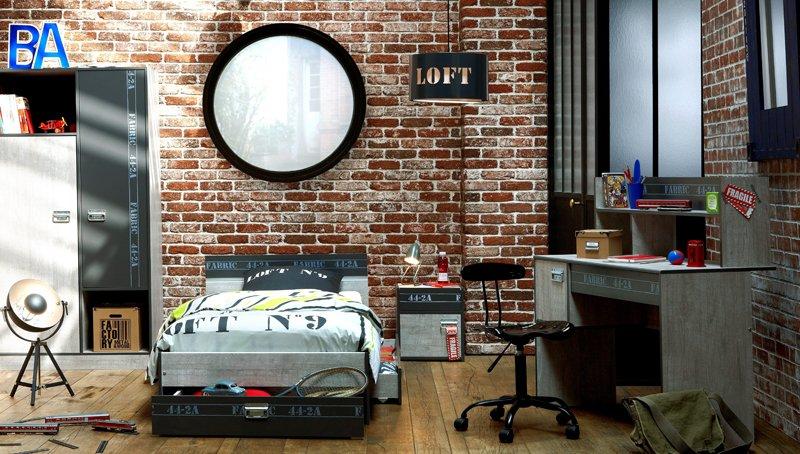 Très decoration chambre loft new yorkais - visuel #2 OW17