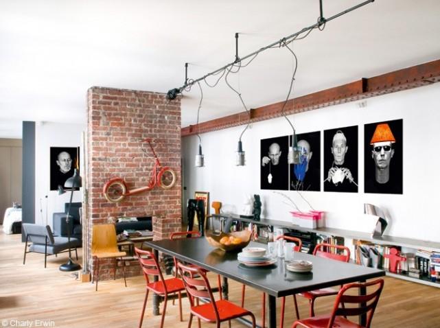 Decoration Chambre Loft New Yorkais Visuel 5