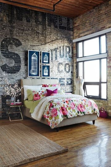 Stunning Chambre Loft New Yorkais Pictures - lalawgroup.us ...