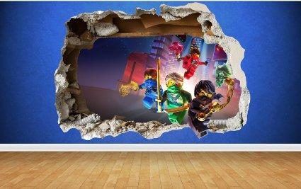 Decoration Chambre Ninjago