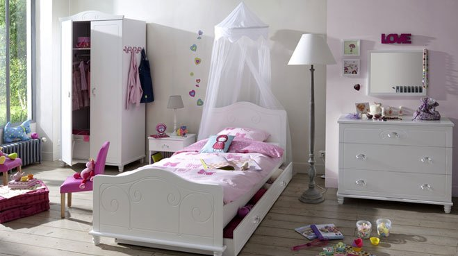 Decoration Chambre Princesse : Decoration chambre princesse visuel