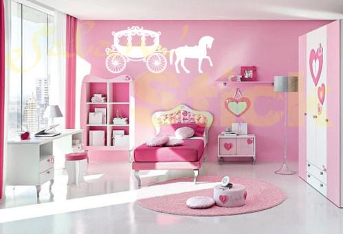 décoration chambre princesse