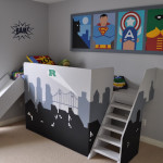 decoration chambre super heros
