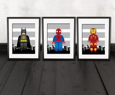 decoration chambre super heros visuel 6. Black Bedroom Furniture Sets. Home Design Ideas