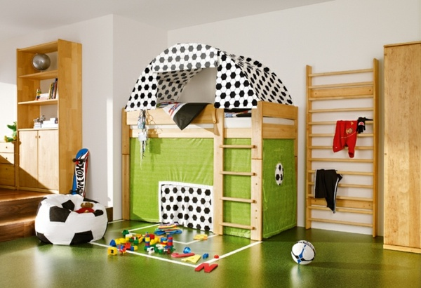 d 233 coration chambre theme football