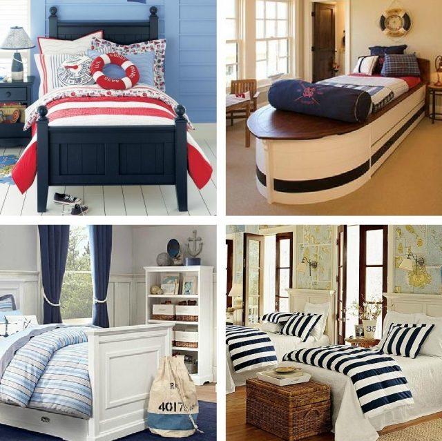 decoration chambre theme marin visuel 4. Black Bedroom Furniture Sets. Home Design Ideas
