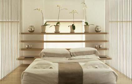decoration chambre zen nature