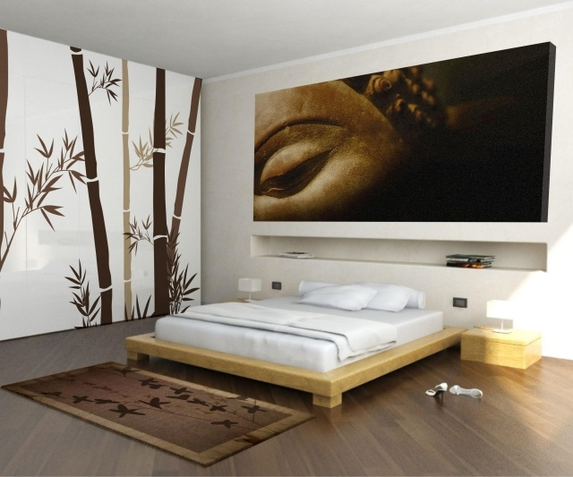 D coration murale chambre zen for Decoration chambre zen attitude