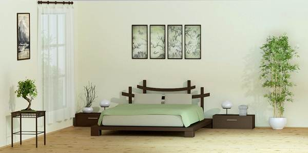 Decoration chambres zen for Chambre decoration zen