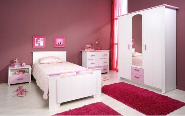 Chambre de jeune fille banque mur de la chambre de la - Deco chambre jeune fille ...