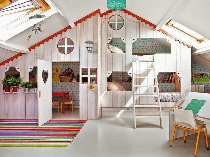 decoration lit cabane visuel 4. Black Bedroom Furniture Sets. Home Design Ideas