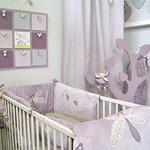 decoration pour une chambre de bebe fille