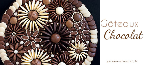 Faire decoration chocolat pour gateau visuel 9 - Decoration en chocolat pour gateau ...