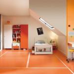 idee deco chambre ado orange