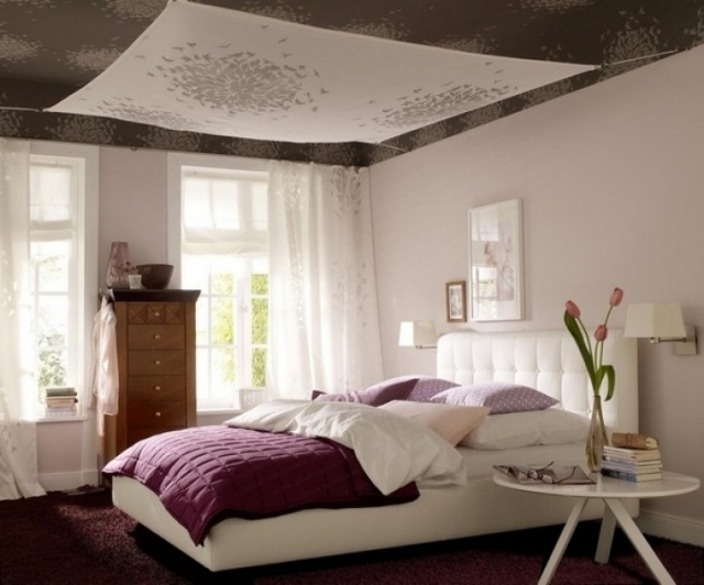 Idee deco chambre adulte romantique visuel 6 for Decoration de lit adulte