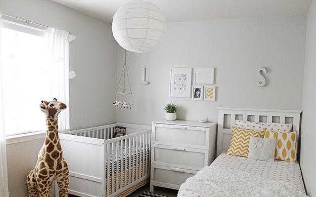 idee deco chambre de bebe mixte - visuel #5