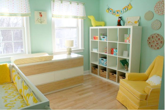 idee deco pour chambre bebe mixte - visuel #4