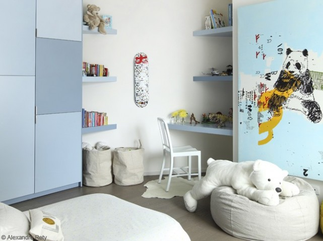 Idee decoration pour chambre garcon visuel 2 - Idee deco chambre petit garcon ...