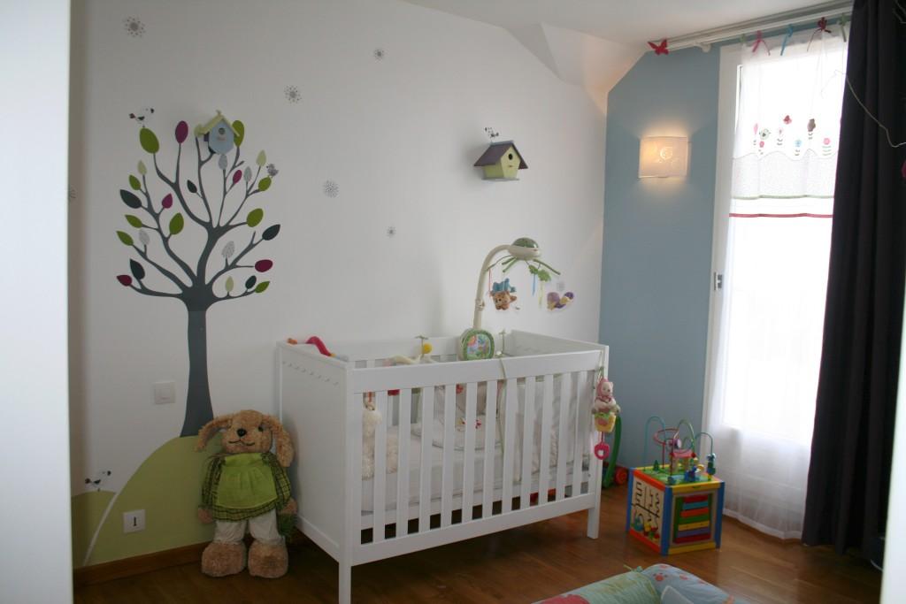 idee peinture chambre bebe mixte - visuel #1