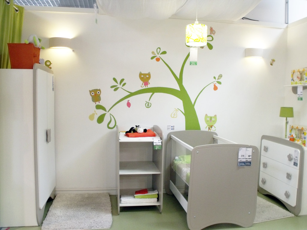 idee peinture chambre bebe mixte - visuel #7