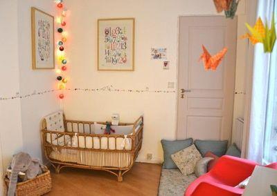 idee peinture chambre bebe mixte - visuel #9