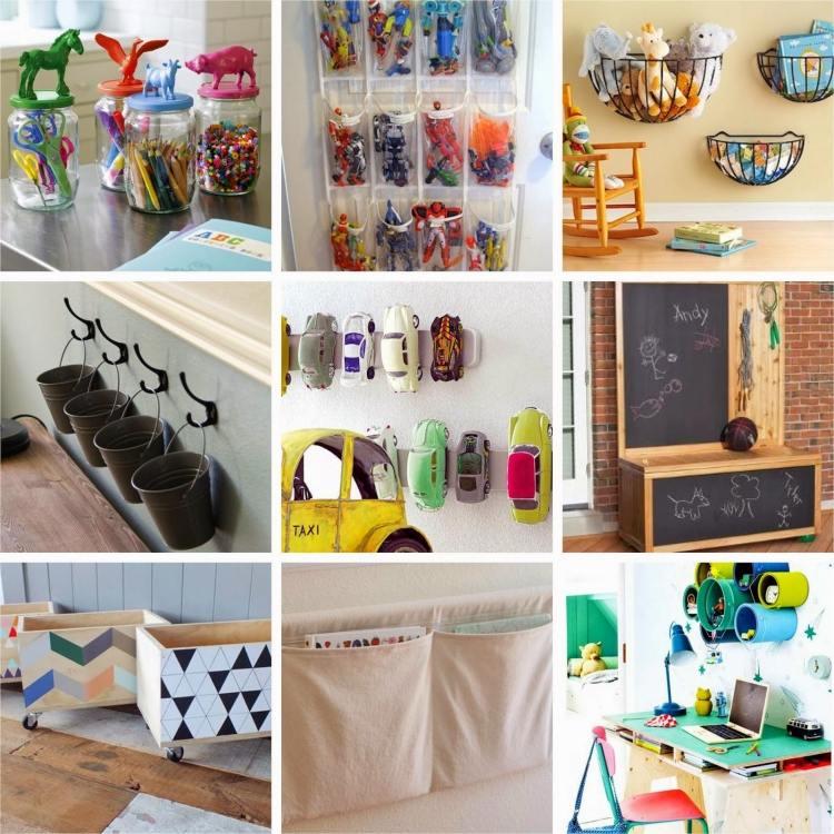 idee rangement chambre de bebe - visuel #2