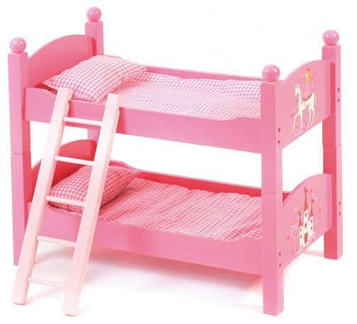 lit jumeaux pour poupon visuel 5. Black Bedroom Furniture Sets. Home Design Ideas