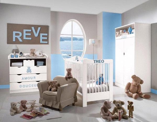 modele de deco pour chambre bebe - visuel #7