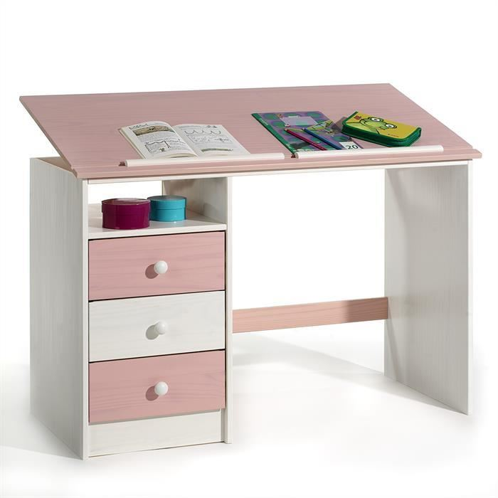 bureau chambre garon bureau pour chambre enfant blanc et rose magenta enchanteur bureau. Black Bedroom Furniture Sets. Home Design Ideas