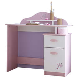 bureau pour fille fly. Black Bedroom Furniture Sets. Home Design Ideas