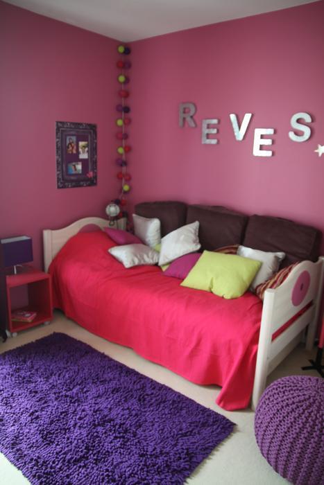 chambre deco jeune fille - visuel #3