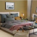 chambre deco kaki. Black Bedroom Furniture Sets. Home Design Ideas