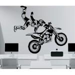 chambre deco moto