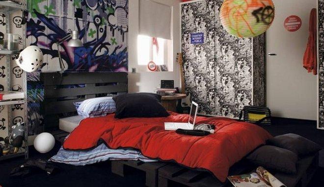 Deco chambre ado garcon rock - Deco chambre ado garcon ...