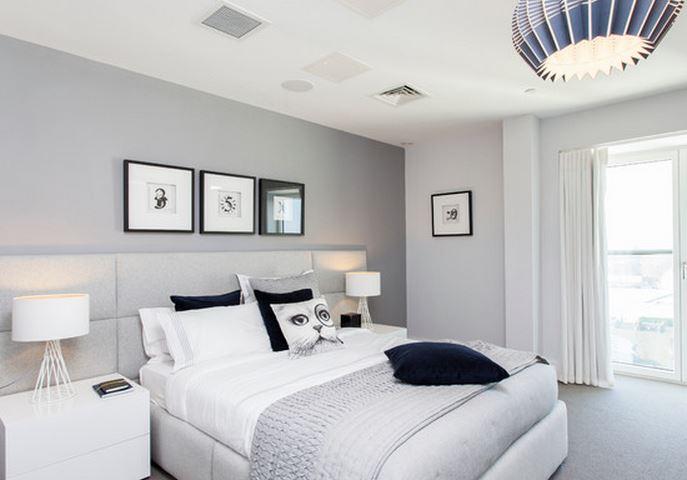 deco chambre adulte gris - visuel #1