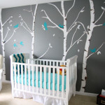 deco chambre bebe bleu et gris
