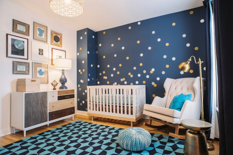 deco chambre bebe bleu petrole visuel 2. Black Bedroom Furniture Sets. Home Design Ideas