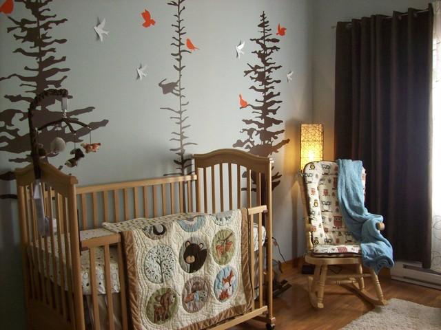 deco chambre bebe montagne - visuel #5