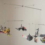 deco chambre bebe origami. Black Bedroom Furniture Sets. Home Design Ideas