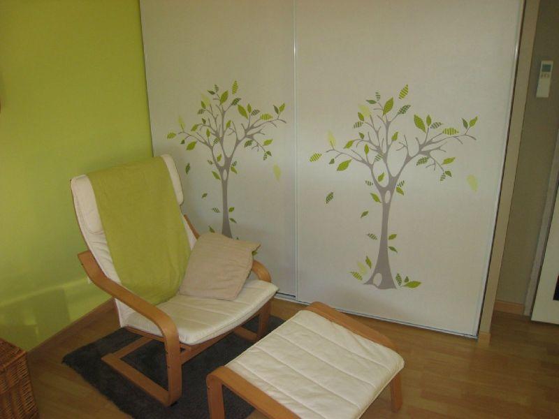 deco chambre bebe vert et marron - visuel #8