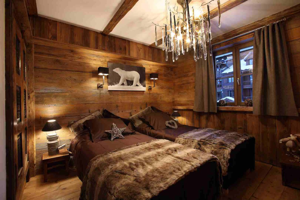 deco chambre chalet montagne visuel 7. Black Bedroom Furniture Sets. Home Design Ideas