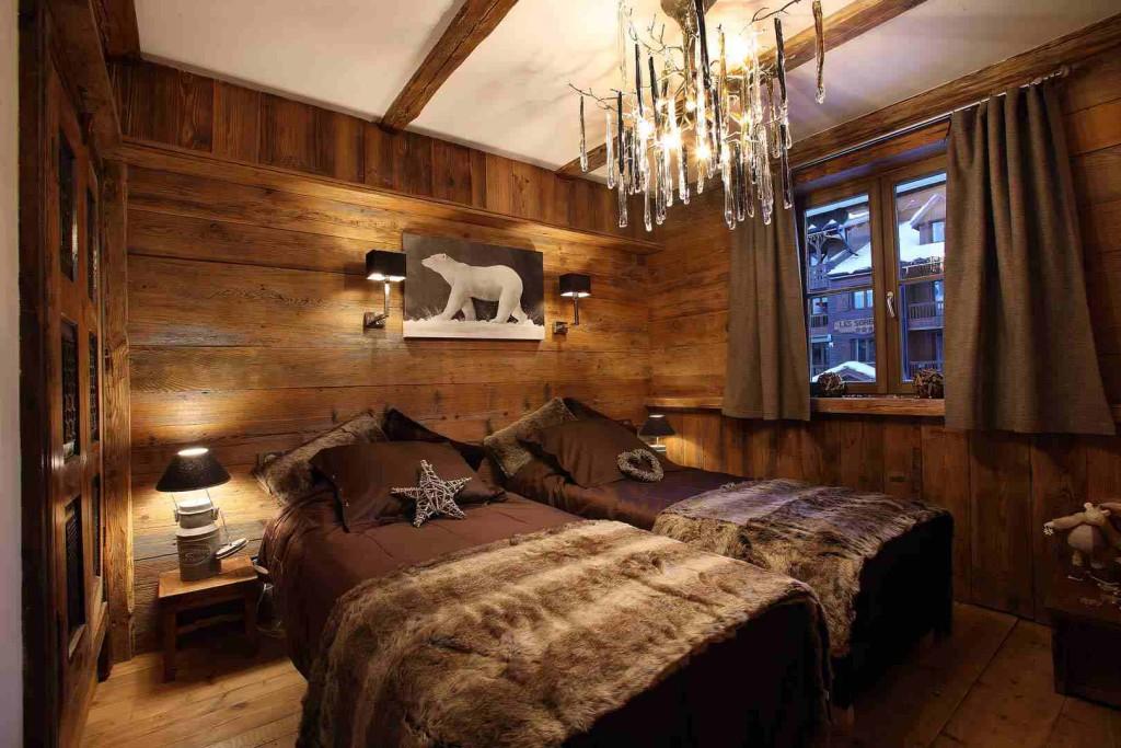 Deco chambre chalet montagne visuel 7 for Chambre style chalet montagne