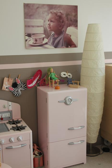 Chambre Bébé Fille Beige Rose : Deco chambre fille beige et rose visuel