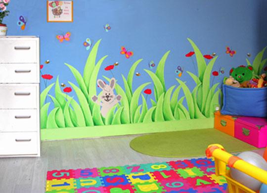 Deco chambre fille jardin visuel 5 - Choses savoir sur lutilisation des couleurs en decoration ...