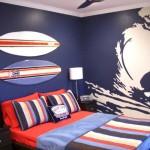 deco chambre garcon surf