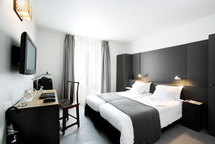 Deco chambre hotel design visuel 6 for Hotel design paris 6