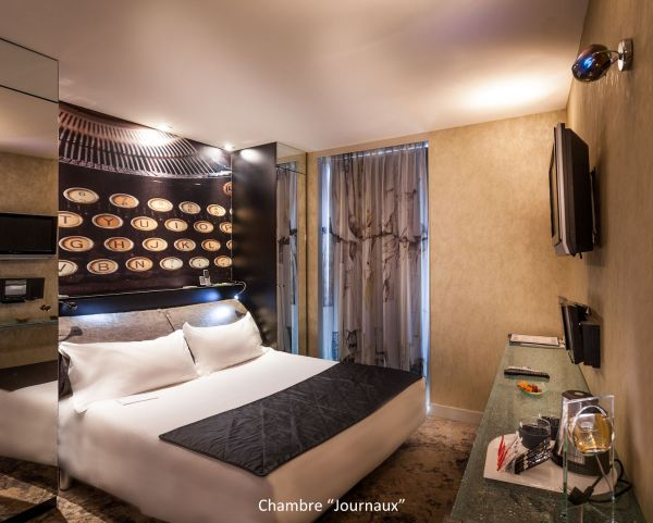 Deco chambre hotel design for Decoration chambre design