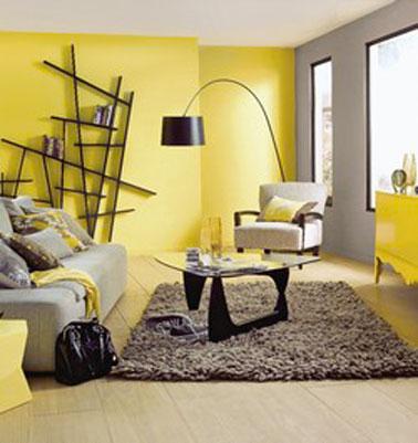 deco chambre jaune et gris visuel 4 - Chambre Jaune Et Gris