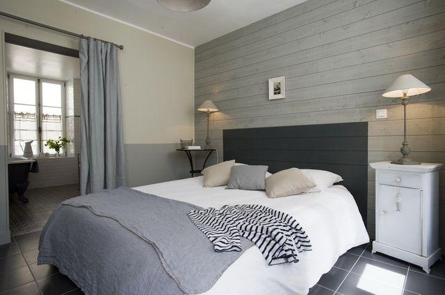 Deco chambre lambris visuel 2 for Chambre 8m2 deco
