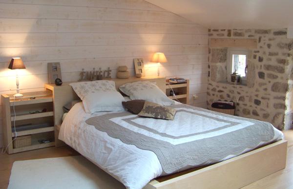Emejing Chambre Lambris Mural Gallery - House Design - marcomilone.com